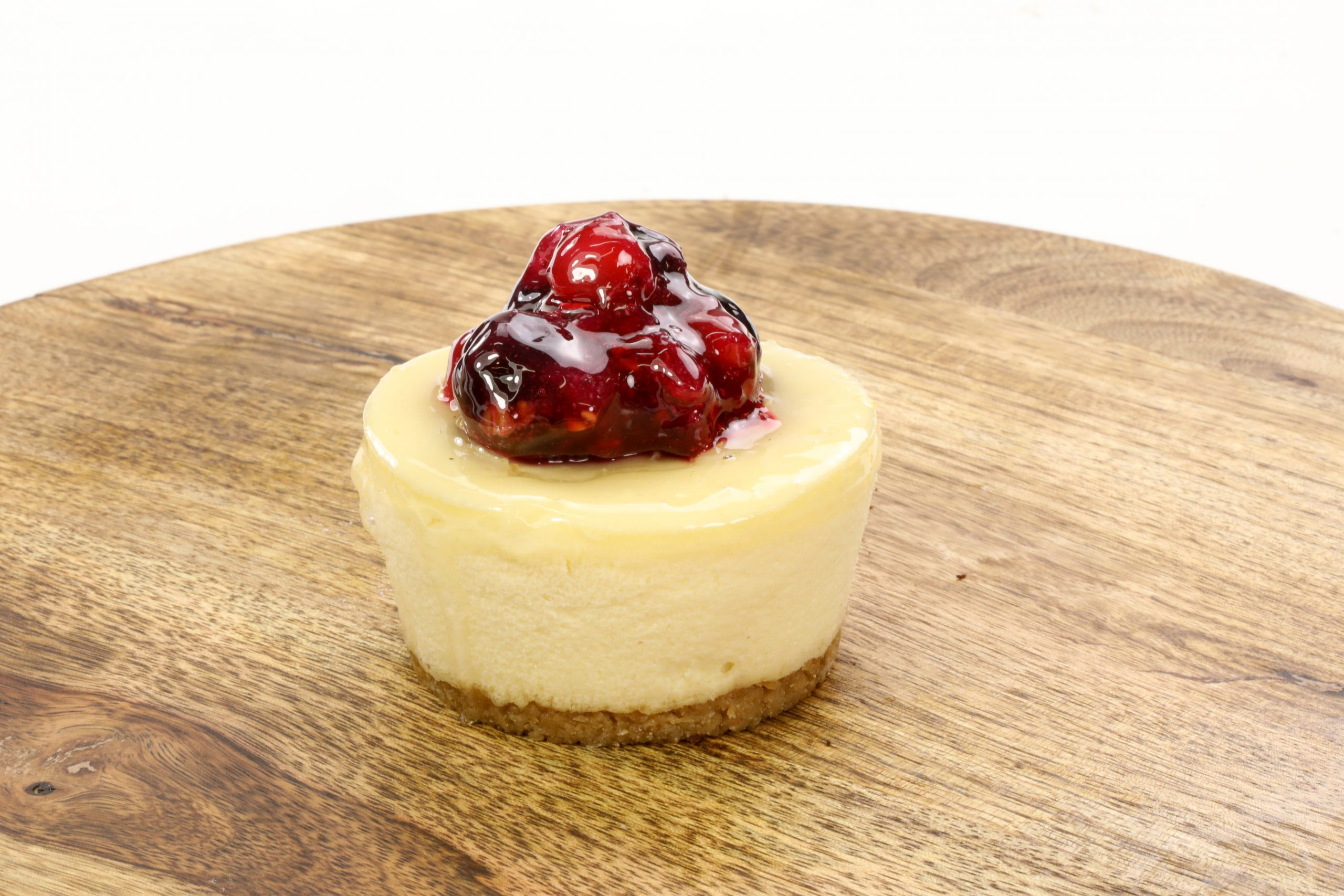"""Featured image for """"Baked Berry Cheesecake"""""""