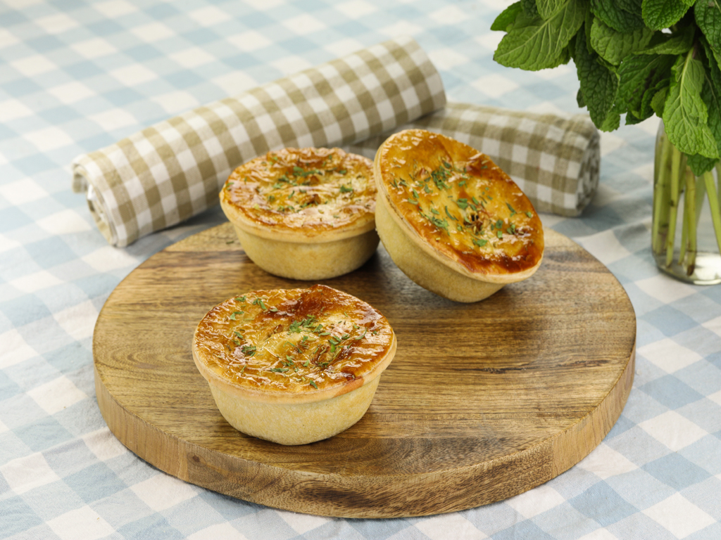 """Featured image for """"Chunky Lamb Cassoulet Pie"""""""